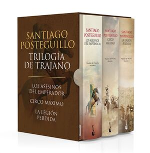 ESTUCHE TRILOGÍA DE TRAJANO