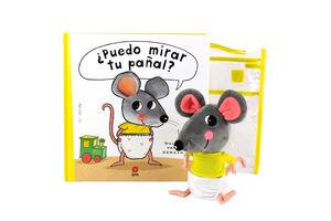 PACK PUEDO MIRAR TU PAÑAL MUÑECO
