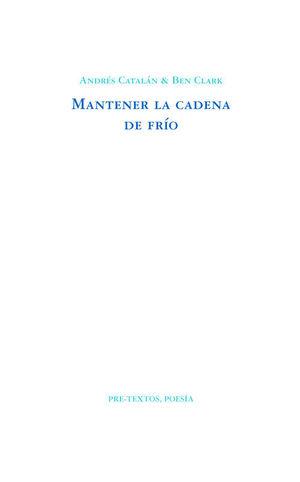 MANTENER LA CADENA DE FRIO
