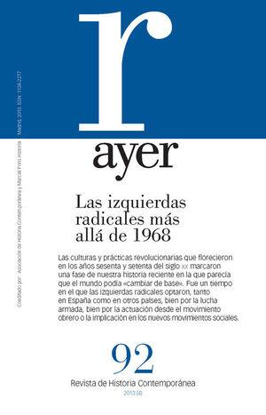 AYER,92 IZQUIRDAS RADICALES