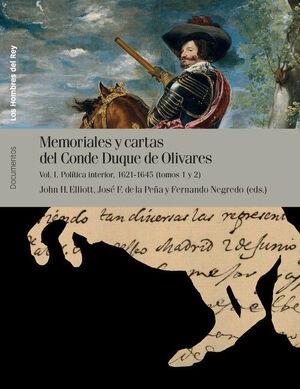 MEMORIALES Y CARTAS CONDE DUQUE OLIVARES