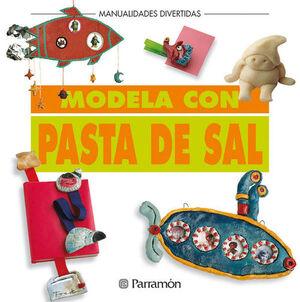 MODELA CON PASTA DE SAL