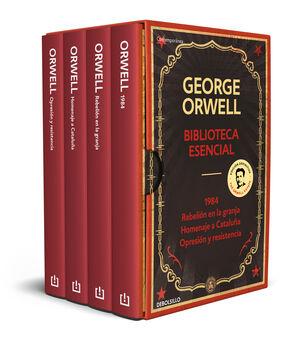 BIBLIOTECA ESENCIAL GEORGE ORWELL (1984  REBELIÓN EN LA GRANJA