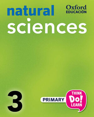 THINK DO LEARN NATURAL SCIENCES 3RD PRIMARY. CLASS BOOK + CD PACK