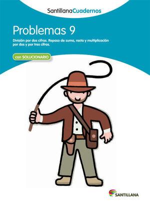 PROBLEMAS 9 SANTILLANA CUADERNOS