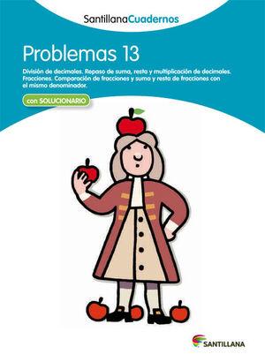 PROBLEMAS 13 SANTILLANA CUADERNOS