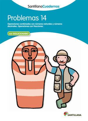 PROBLEMAS 14 SANTILLANA CUADERNOS