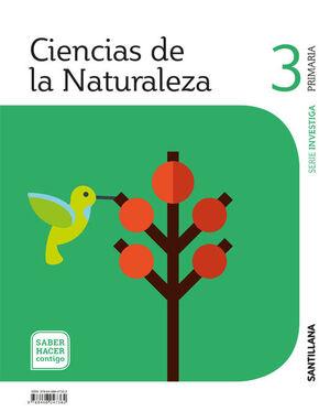 CIENCIAS DE LA NATUREZA 3 PRIMARIA SABER HACER CONTIGO