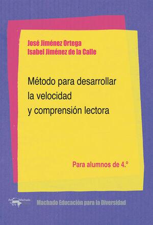 METODO DESARROLLAR VELOCIDAD, 4º