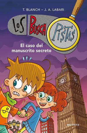 BUSCAPISTAS. EL CASO DEL MANUSCRITO SECRETO (LIBRO DOBLE)