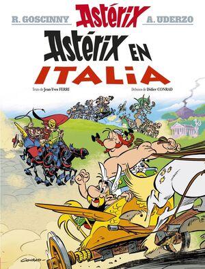 ASTÉRIX EN ITALIA (EN GALEGO)