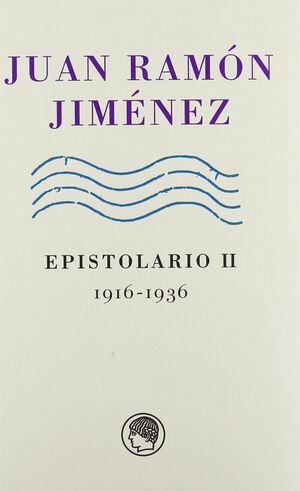 J.R.JIMENEZ EPISTOLARIO, 2 (1916-1936)
