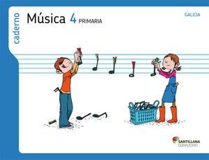 CADERNO MUSICA 4 PRIMARIA