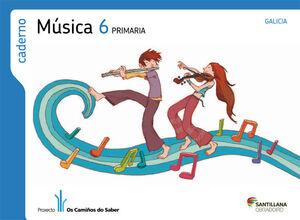 CADERNO MUSICA 6 PRIMARIA